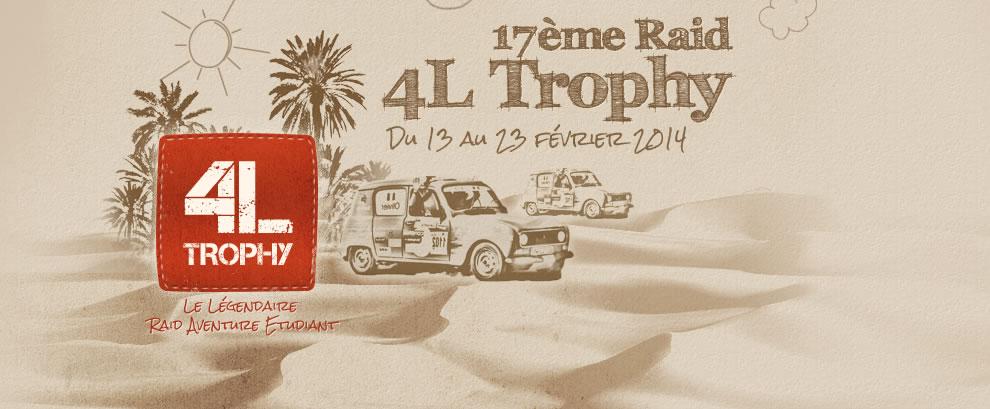 Raid 4L Trophy - 17ème Edition pour 2014