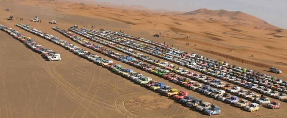 Plus de 1300 équipages et 4L pour le Raid 4L Trophy